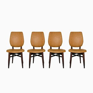 Mid-Century Danish Chairs, 1960s, Set of 4