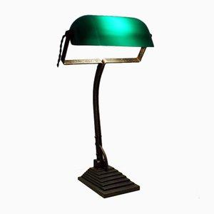 Antique Viennese Banker's Lamp