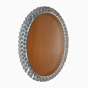 Illuminated Oval Mirror by Emil Stejnar for Rupert Nikoll, 1950s