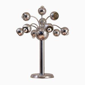 Lampe de Bureau en Forme d'Arbre Chromé, Italie, 1960s