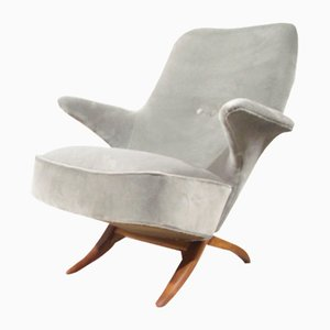 Mid-Century Penguin Lounge Chair by Theo Ruth for Artifort