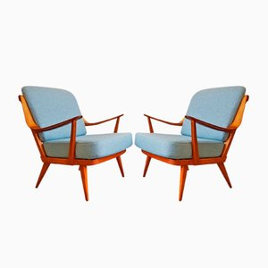 German Armchairs from Knoll, 1950s, Set of 2