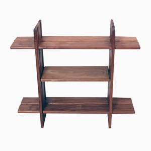 Vintage French Fruitwood Shelf from Regain