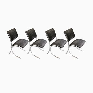 Dining Chairs from Maison Jansen, 1960s, Set of 4