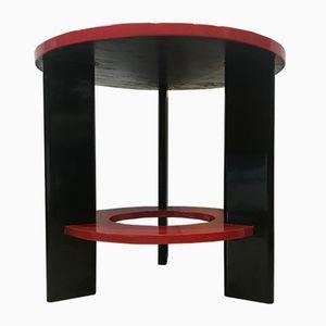 Vintage Futurist Spruce Coffee Table by Osvaldo Borsani