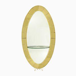 Italian Model 2690 Mirror from Cristal Art, 1950s