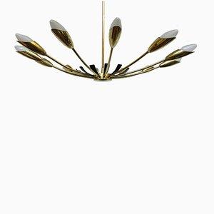 Italian Sputnik Ceiling Lamp, 1950s
