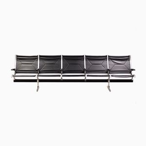 Vintage 5-Seater Tandem Sling by Charles & Ray Eames for Herman Miller