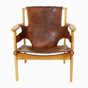 Schwedischer Vintage Trienna Armlehnstuhl von Carl-Axel Acking für Nordiska Kompaniet