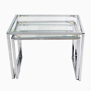 Tavolini a incastro vintage modernisti di Ikea