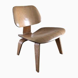 LCW Birke Furnier Stuhl von Charles & Ray Eames, 1950er