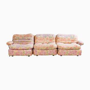 Deutsches Modulares Vintage Sofa von Dreipunkt, 1960er