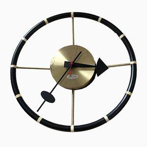 Steering Wheel Clock by George Nelson for Howard Miller, 1955