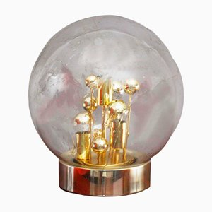 Handblown Bubble Glass Table Lamp from Doria Leuchten, 1970s