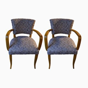 Italian Bridge Chairs, 1950s, Set of 2