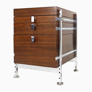 Belgian Chest of Drawers in Rosewood by Jules Wabbes for Le Mobilier Universel, 1960s