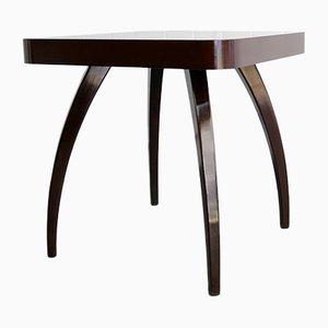 Tavolo H29 Spider impiallacciato in legno di Jindřich Halabala, anni '40