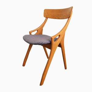 Vintage Oak Dining Chair by Arne Hovmand Olsen