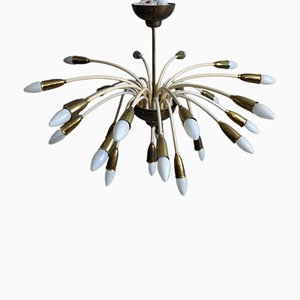 Large Sputnik Chandelier, 1950s