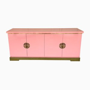 French Lacquered Sideboard from Maison Jansen, 1970s