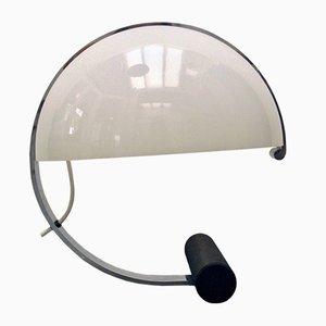 Lampada da tavolo in acrilico e placcato in cromo di Stilnovo, anni '70