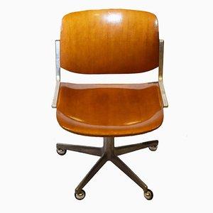Chaise de Bureau Vintage par Giancarlo Piretti pour Anonima Castelli