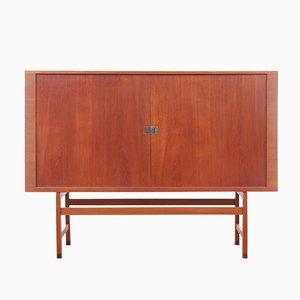 Mueble President de teca de Hans J. Wegner para Ry Mobler