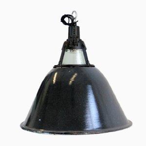 Lampada da fabbrica grande sovietica industriale, anni '50