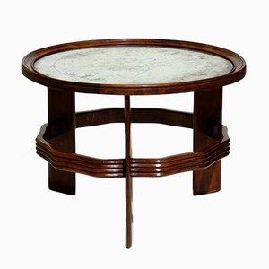 Table Basse Art Déco Vintage par Vittorio Valabrega, Italie