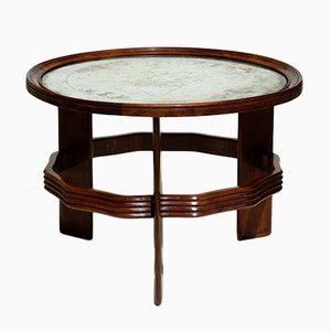 Vintage Italian Art Deco Coffee Table by Vittorio Valabrega
