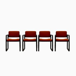Ypsilon Dining Chairs by Just Meyer for Kembo, 1970s, Set of 4