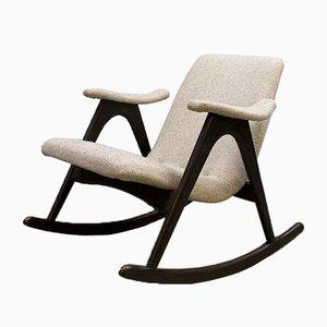 Rocking Chair par Louis Van Teeffelen pour WéBé, Pays-Bas, 1960s