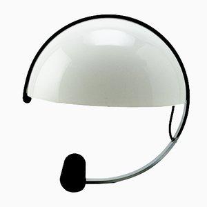 Weiße italienische Tischlampe in Kugelform von Artimeta, 1970er