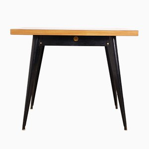French No. 55 Table from Tolix, 1950s