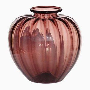 Art Deco Soffiati Vase aus Murano Glas von Vittorio Zecchin für MVM, 1920er