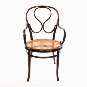 Antiker Armlehnstuhl Nr. 20 aus Bugholz von Thonet