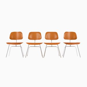DCM Chairs by Charles & Ray Eames for Herman Miller, 1960s, Set of 4