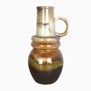 Grand Vase Fat Lava Viennois Vintage de Scheurich, 1970s