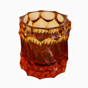 Vintage Vase in Cut Glass