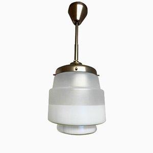 Vintage Art Deco Bauhaus Pendant Light