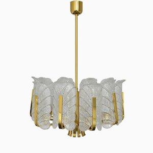 Lámpara de araña de Carl Fagerlund para JSB, años 60