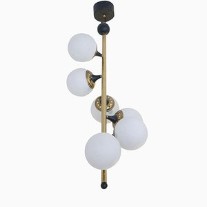Italian Ceiling Light from Stilnovo, 1950s