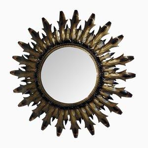 Specchio a forma di sole, anni '70