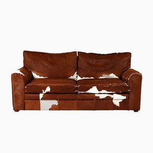 Vintage Cowhide Sofa, 1970s