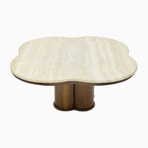 Table Basse Cloud Vintage en Travertin