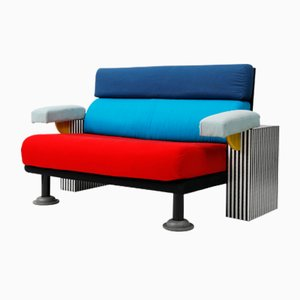 Lido Sofa by Michele de Lucchi for Memphis Milano, 1982