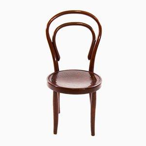 Chaise pour Enfants No. 1 Art Nouveau Vintage en Bois Courbé de Thonet