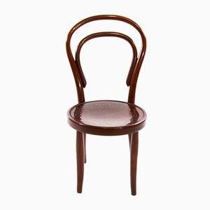 Vintage Art Nouveau Children's Bentwood No. 1 Chair from Thonet