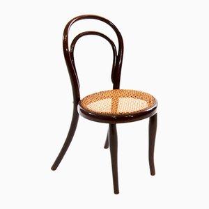 Chaise pour Enfant No. 1 Antique en Bois Courbé de Thonet