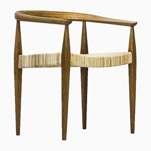Armlehnenstuhl Nr. 113 aus Eichenholz von Nanna Ditzel für Kolds Savværk, 1950er